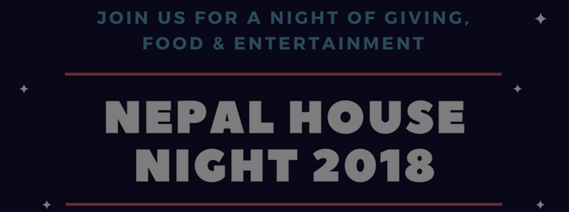 Nepal House Night 2018